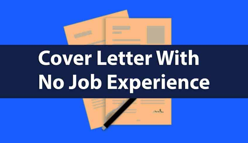 College Student Cover Letter With No Job Experience Simple Guide Thumbnail